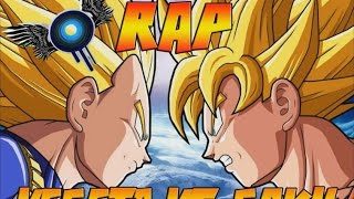 GOKU VS VEGETA RAP - IVANGEL MUSIC | DRAGON BALL
