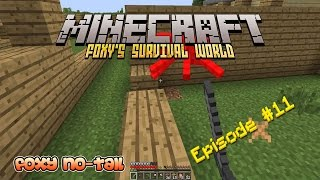 Minecraft Survival - How to build a Big House [11]