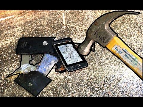 Bored Smashing - iPhone 3GS!