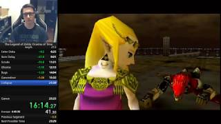 Ocarina of Time No ACE speedrun in 24:09
