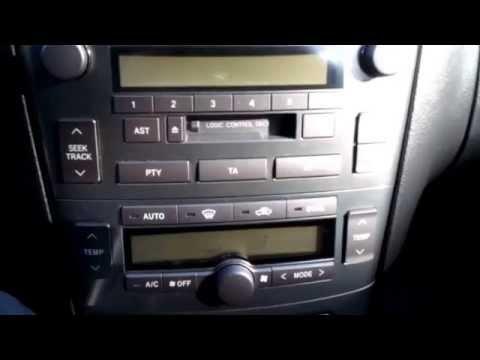 Toyota Avensis t25. Само диагностика.