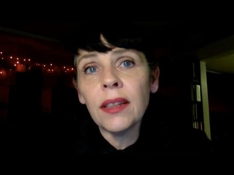The People's Tribunal on the Iraq War, Day Two: Icelandic 'Poetician' Biritta Jonsdottir