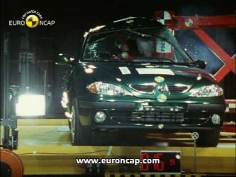 Euro NCAP | Renault Megane | 1999 | Crash test