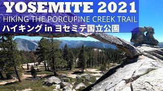 "[Yosemite Hiking] Porcupine Creek Trail & Indian Rock ヨセミテ国立公園にある天然アーチ""インディアン・ロック""を見るためハイキングしてきました!"