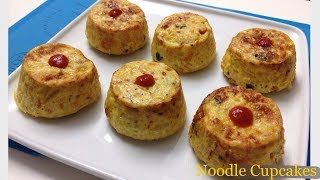 How to Make Noodle CupCake Without Oven Cheesy CupCake in Vessel