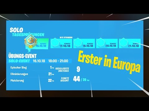 Erster in ganz europa im fortnite turnier |Fortnite Battle Royale(Ps/Pc) thumbnail