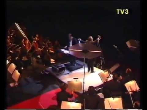 Pavarotti in Barcelona. Barcelona Symphony Orchestra (OBC). 1990