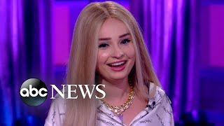 Gambar cover Kim Petras is breaking barriers as music's new pop princess l Nightline