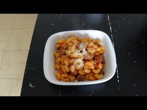 pâtes-aux-merguez-au-cookeo