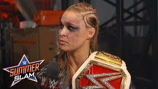 Ronda Rousey now carries the torch for the WWE Women's Division: SummerSlam Exclusive, Aug. 19, 2018