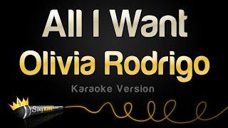 Download Olivia Rodrigo - All I Want (Karaoke Version)