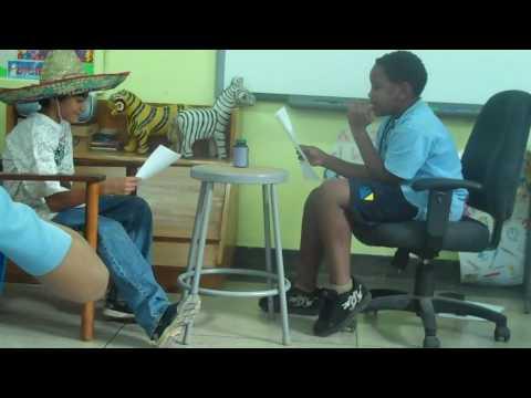 Aman y Ashraf en la oficina del doctor
