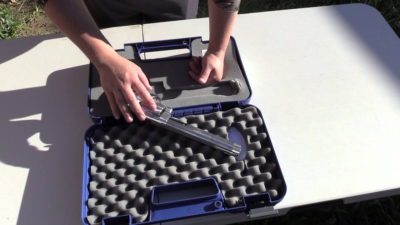 Smith And Wesson 12039 Unboxing: Smith & Wesson 500 Magnum Unboxing