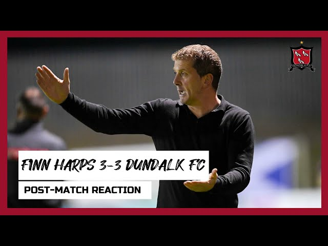 Vinny Perth Reaction | Finn Harps 3-3 Dundalk FC