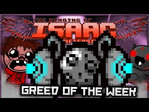 The Binding of Isaac: Afterbirth - Greed of the Week: INFINITE DRUNK MEGA ALIENS!