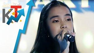 Shanne Gulle sings Hero in Tawag Ng Tanghalan Quarter Finals 2021