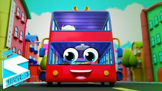 Колеса на автобусе Детские стишки обучающие Super Supremes Russia Музыка для детей