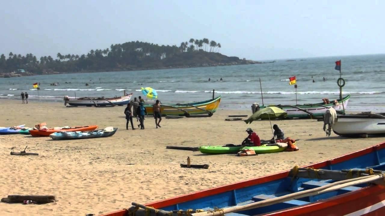 Palolem Beach In Hd Feb 2015 Goa India гоа