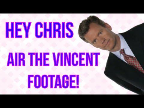 CHRIS HANSEN NEEDS TO AIR VINCENT