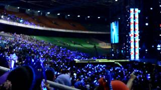 130309 Fanchant SJ - SFS before begins  #MUBANKJKT Music Bank Jakarta, Indonesia (snr)