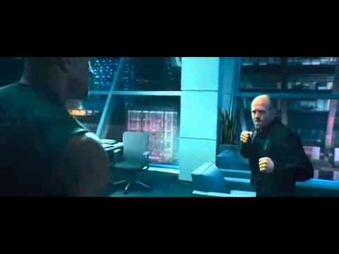 Jason Statham vs The Rock Full Fight Scene in Fast and Furious 7