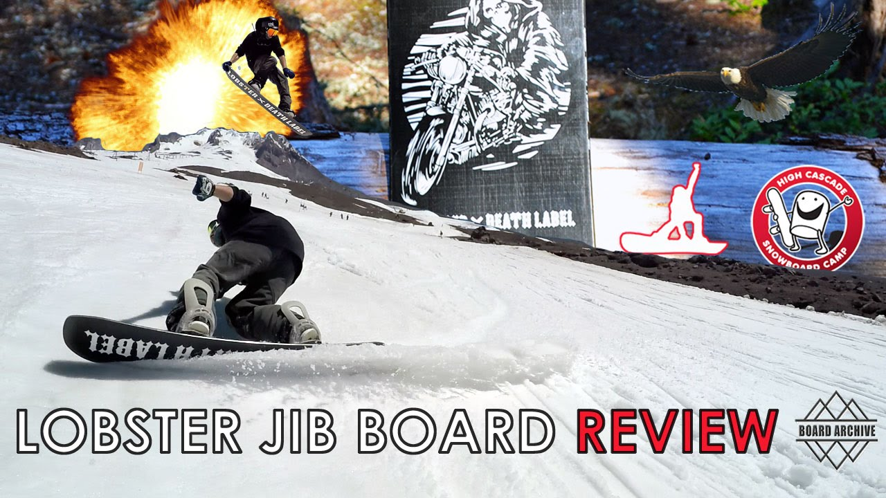 32b9cef45b6c Lobster Jibboard Snowboard Review - YouTube