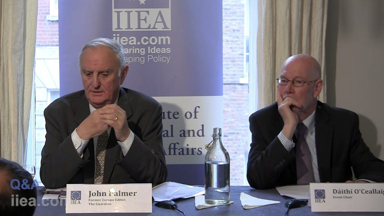 Image result for John Palmer, a former European editor of the Guardian images