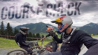 Downhill Pro Line Check in Saalbach - Glemmride 2017