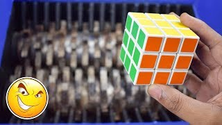 Shredding Machine Vs Rubiks Cube And Other Toys | Awesome Satisfying Video