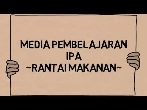Videoscribe Media Pembelajaran IPA SD/MI Rantai Makanan