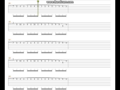 ACDC - Thunderstruck Tab