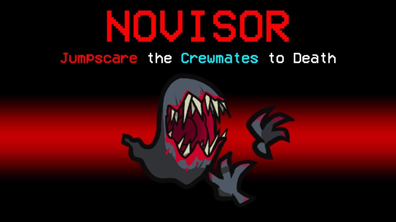 Download NEW Among Us NOVISOR ROLE?! (Scary Mod)
