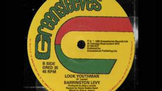 "Barrington Levy - Look Youthman 12"" (B)  1980"