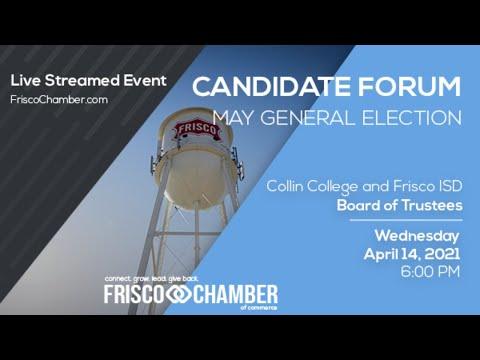 Frisco School Boards Candidate Forum - 2021