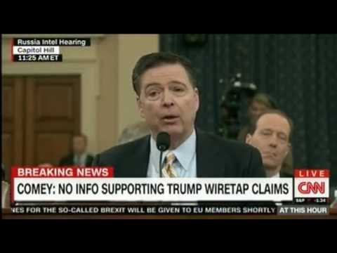 FBI director James Comey confirms Russia's efforts to interfere in the 2016 US election part 2
