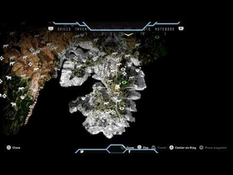 Horizon Zero Dawn Ancient Vessel   Arches Location