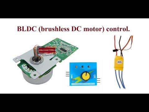 BLDC (brushless DC motor) control.
