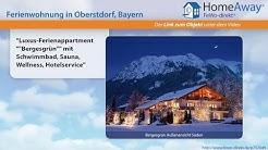 """Allgäu: """"Luxus-Ferienappartment """"""""Bergesgrün"""""""" mit Schwimmbad, Sauna - FeWo-direkt.de Video"""