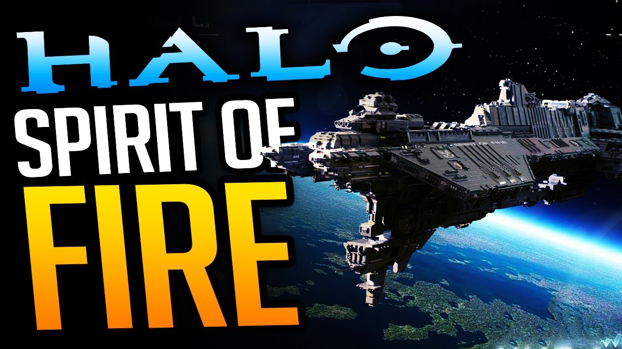 Halo's Lost Starship: The UNSC Spirit of Fire