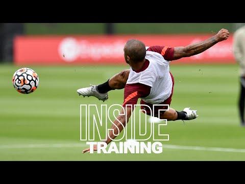 Indoor training: Thiago scissor kick and many goals ahead of Norwich.