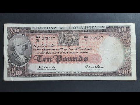 Australian Predecimal Banknotes 1954-1966
