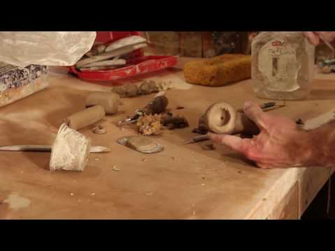 How to make a ceramic pipe | Basic Tutorial