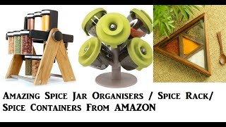 Amazing Spice Rack from Amazon/ Spice Jar Organisers From Amazon