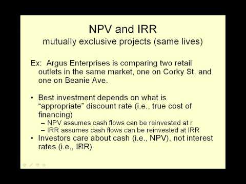 video5 Net Present Value