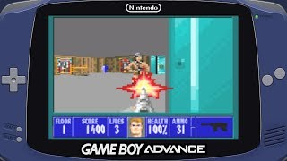 Wolfenstein 3D (Game Boy Advance - Id Software - 2002)