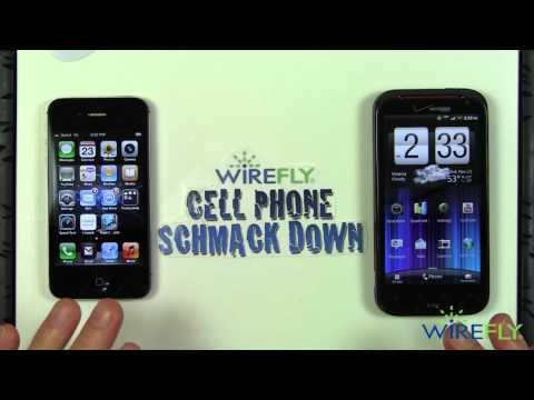 Schmackdown! HTC Rezound vs iPhone 4S