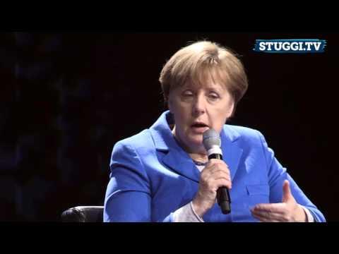 Podiumsgespräch: Bundeskanzlerin Angela Merkel am 08.03.2016 in Stuttgart