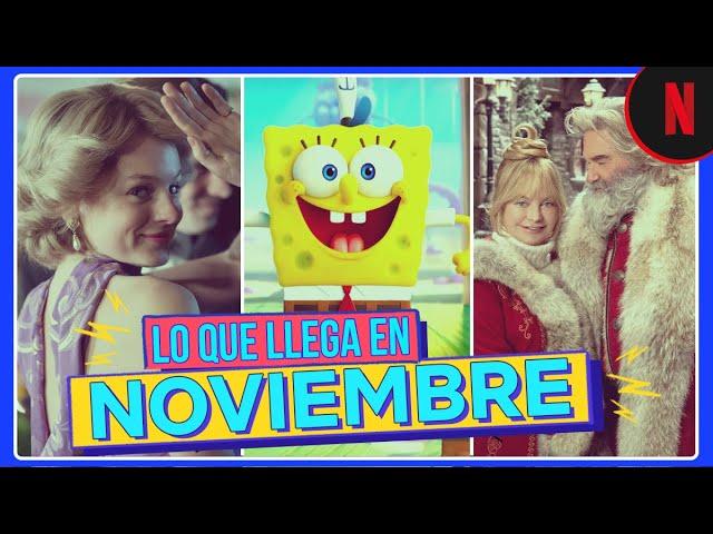 Estos son los estrenos de noviembre | Netflix Latinoamérica