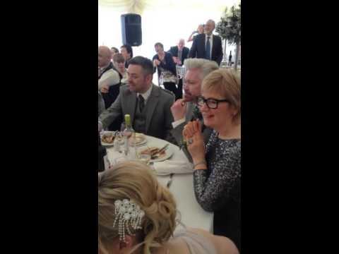 Groom Wedding Surprise By The Secret Opera Singers Youtube