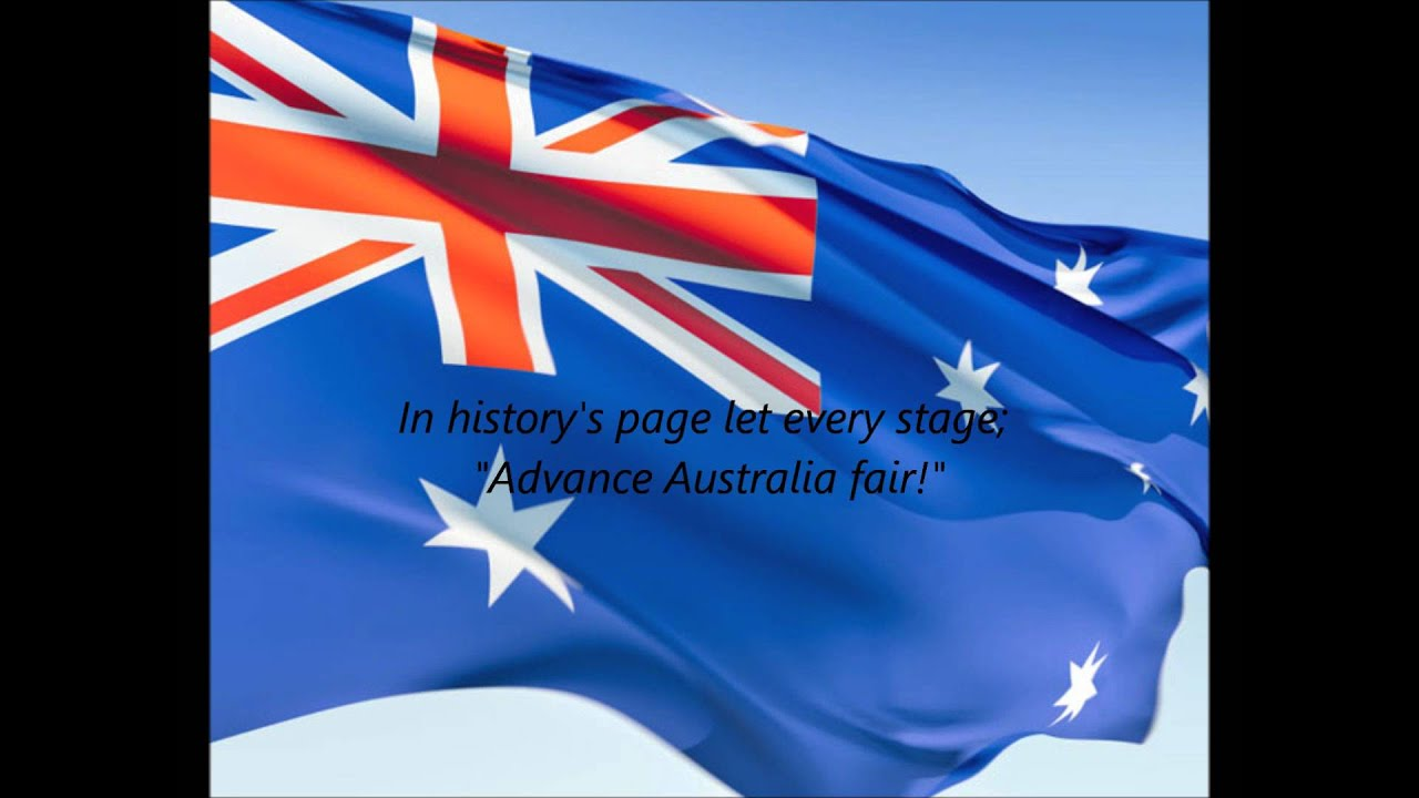 National Anthem:Australia Lyrics | LyricWiki | FANDOM ...